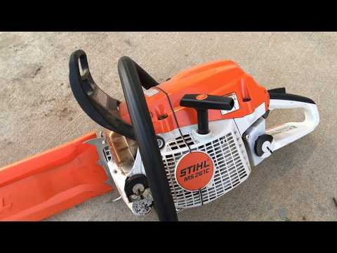STIHL MS 261 C CHAINSAW REVIEW