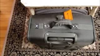 Fix suitcase handle stuck in down position