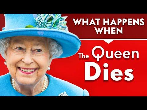 Co se stane po smrti britské královny