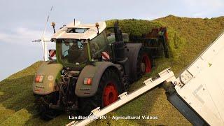 New Holland - John Deere - Fendt - +++ / Maissilage - Silaging Maize  2020  pt2