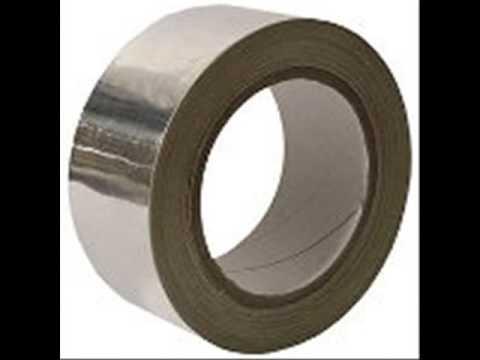 Cinta metálica. Cintas adhesivas metálicas de aluminio, cobre.