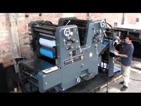 K.P.A.: Maquinas importadas de alemania