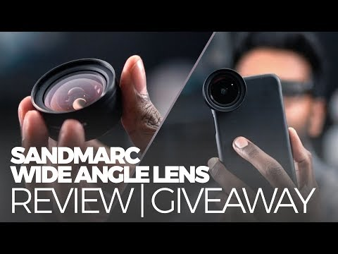 SANDMARC Wide Angle Lens for iPhone X REVIEW + GIVEAWAY