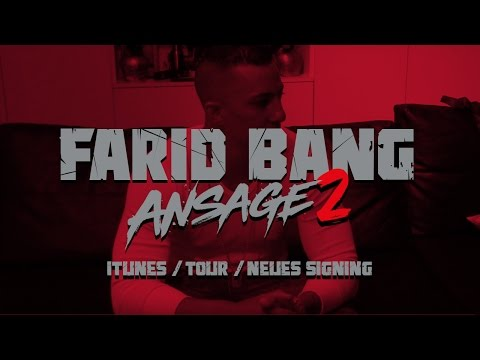 Farid Bang kündigt neues Signing an! (Video)