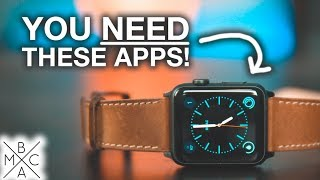 Apple Watch: 3 APPS YOU NEED TO HAVE! ⌚️