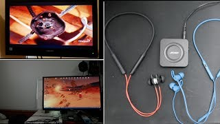 Connect 2 Bluetooth earphones to PC ,Television Smartphone, or Tablet : HOW TO