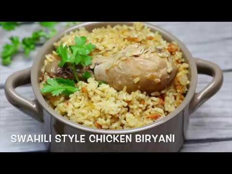 Swahili Style Chicken Biryani