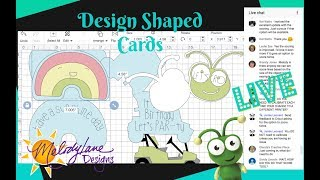 How to Design Your Own Shaped Cards in Cricut Design Space