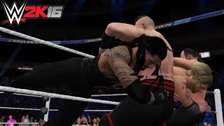 WWE 2K16: 60 Second Fury - Spear!