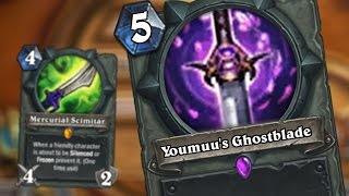 5 league of legends themed hearthstone weapons [ Custom cards ]