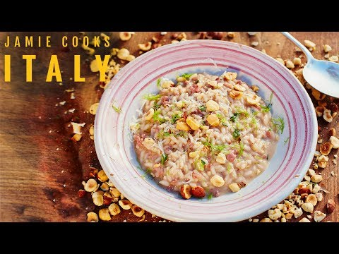 Jamie Cooks Italy | Sausage Risotto Bacon & Onion Dumplings and Ham & Pea Pasta