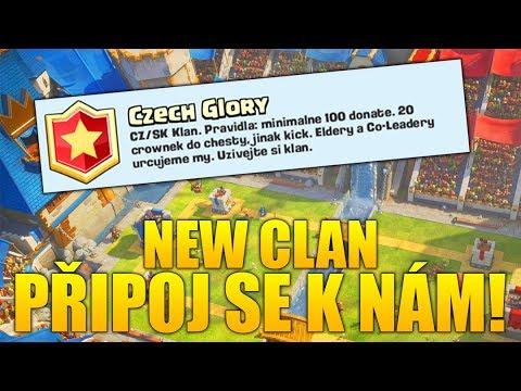 Nový klan v Clash Royale - připoj se k nám!