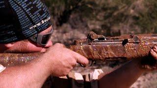 Mud Test M1 Garand