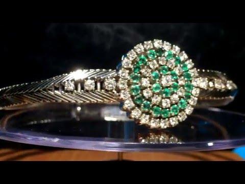 Diamant Smaragd Armband