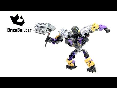 Vidéo LEGO Bionicle 70789 : Onua - Maître de la Terre