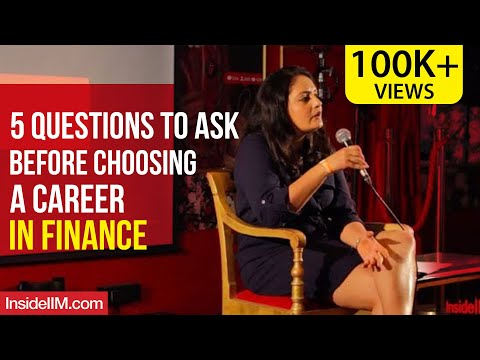 , title : '5 Questions To Ask Before Choosing A Career In Finance | Miti Vaidya, XLRI Jamshedpur Alumna