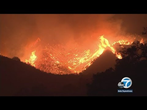 Thomas Fire edges closer to Montecito, Summerland | ABC7