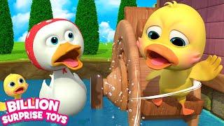 Five Little Ducks Kids Song | BST Nursery Rhymes for Babies