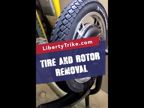 Liberty Trike | Tire and Rotor Removal