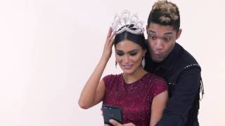 A Surprise for Pia During Her Final Photoshoot