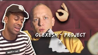 Olexesh   PROJECT X (prod. Von PzY) [Official 4K Video] 385idéal   REACTION