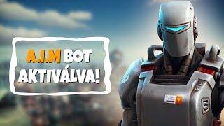 AKTIVÁLTUK AZ A.I.M BOTOT!   KÜLDETÉS JUTALOM! (Fortnite Battle Royale)