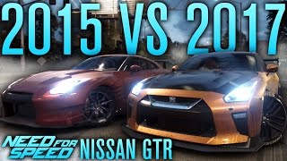 NISSAN GTR 2017 VS 2015! | Need for Speed 2015 Gameplay w/ The Nobeds