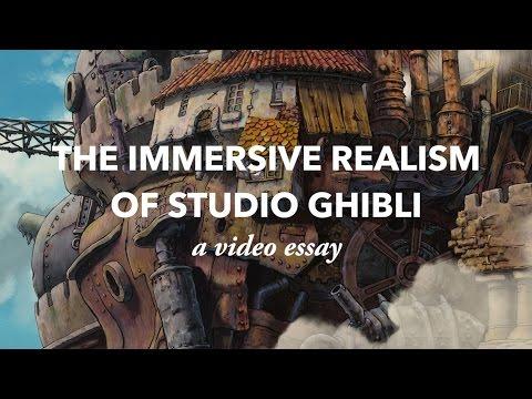 Pohlcující realismus studia Ghibli