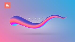 What Can Be Created By Using The Blend Tool Eps. 01 | Adobe Illustrator Tutorial