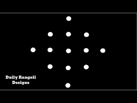 Beautiful Simple Padi Kolam Designs with 5X1 Dots |Easy Muggulu Kolam Rangoli |Easy Kolangal #929