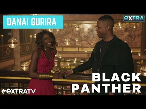Danai Gurira Spills on Her 'Black Panther' Character & Castmates!