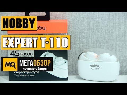 Обзор Nobby Expert T-110. Беспроводная стереогарнитура с Bluetooth 5.0