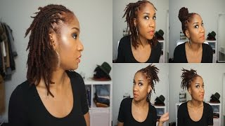 5 Quick Hairstyles For Short/Medium Dreads