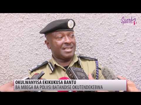 Ba mbega ba poliisi batandise okutendekebwa okulwanyisa ekikukusa bantu