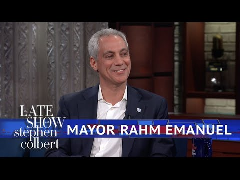 Mayor Rahm Emanuel: Chicago Is A 'Trump-Free Zone'