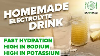 Make your own Best Homemade Electrolyte Drink for instant Hydration