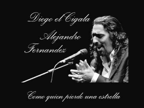 """Como Quien Pierde una Estrella (Dueto Con Diego """"El Cigala"""" cover"""