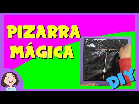 DIY pizarra mágica casera para niños