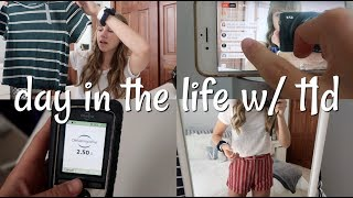 Day In The Life Of A Type 1 Diabetic | Laina Elyse