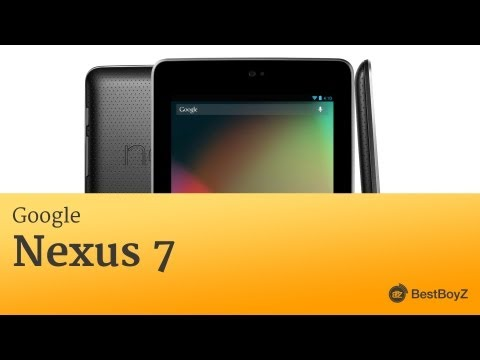 Youtube Video ASUS Google Nexus 7 Version 2013 LTE 32GB in dark brown