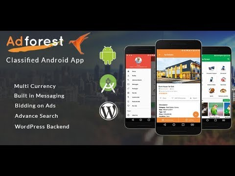 Adforest Classified Apps for Android – Mobile Classifieds Ads App - Virtual Tour
