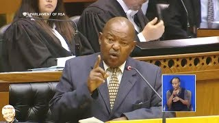 Angry Cope Lekota And FF Plus Groenewald Rejects EFF Motion