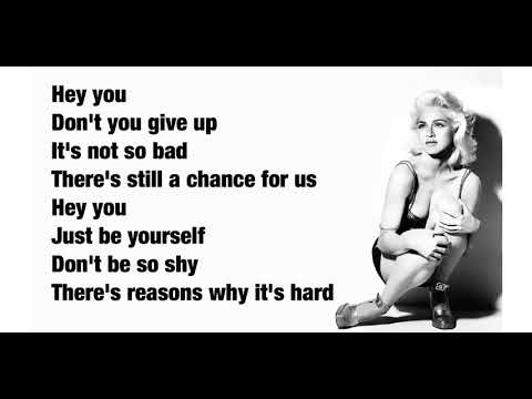 Madonna - Hey You (Lyrics)