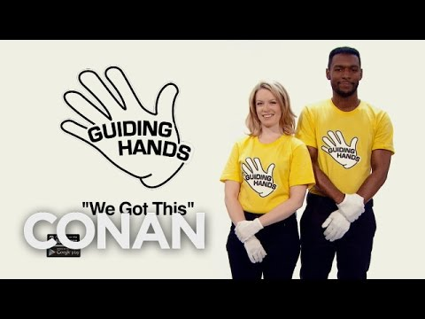 Introducing Guiding Hands  - CONAN on TBS (видео)