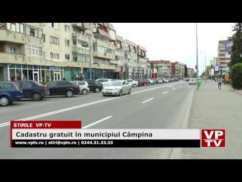 Cadastru gratuit în municipiul Câmpina