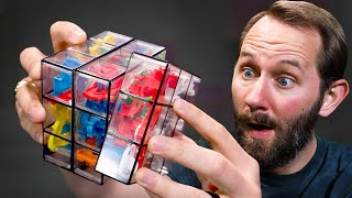 Maze Inside a Rubik's Cube?! | 10 Puzzles That Will Melt Your Mind!