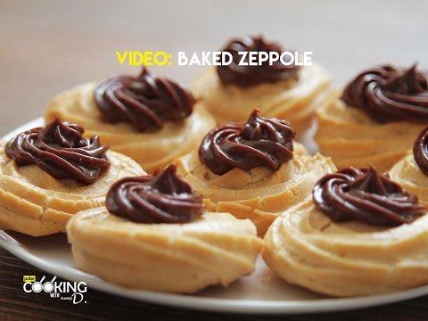 Video Baked Zeppole Recipe