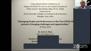 People Management Post Covid 19-Global Conf 29 May