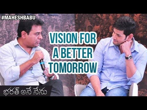 Mahesh Babu and KTR Interview   Vision for A Better Tomorrow
