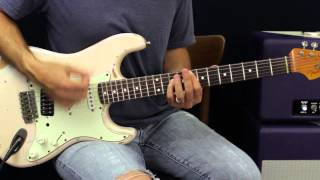 How To Play - 38 Special  - Rockin' Into The Night - Guitar Lesson - Rhythm Parts